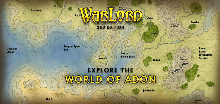 The Lands of Adon